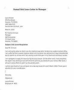 Leave letter sample to manager formal letter sample template 70 free word pdf documents thecheapjerseys Gallery