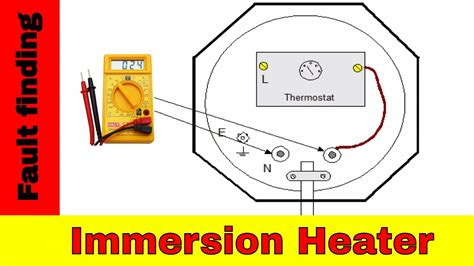 how to fix broken immersion heater electrical fault finding