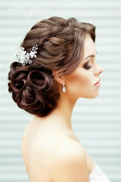 updo wedding hairstyles long hair