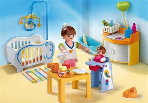 chambre playmobil playmobil set 4286 baby room klickypedia