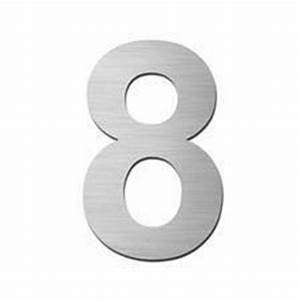 Self adhesive 150mm number 8 house numbers direct for Self adhesive house numbers and letters