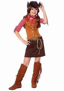 Girls Gun Slinger Costume