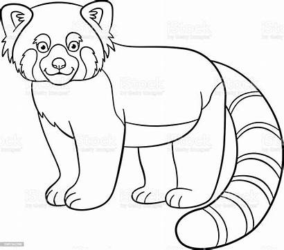 Panda Coloring Pages Drawing Vector Smiles Combo