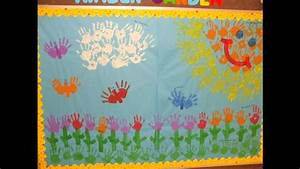 Spring decorations for classroom - YouTube