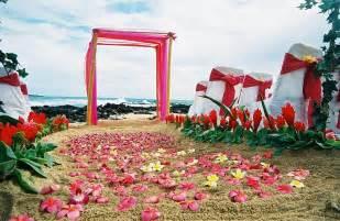 hawaiian wedding hawaiian wedding decorations