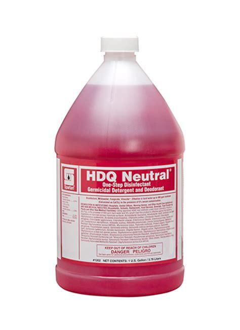 Spartan Hdq Neutral  Step Disinfectant Gallon