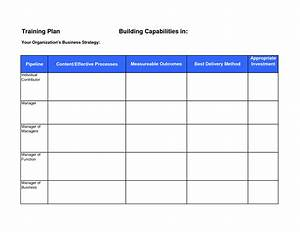 safety training calendar template - template new training plan template training plan template