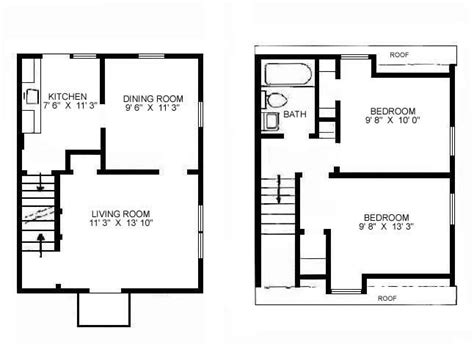 Surprisingly Small Home Floor Plan by Small Floor Plan Change Up Stairs To One Bedroom W Bath