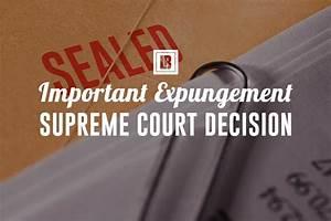 Minnesota Supreme Court Expungement Decision