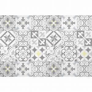 Tapis Pvc Carreaux De Ciment : tapis vinyl carreaux ciment tapis vinyle carreaux de ciment simone beige tapis carreaux de ~ Teatrodelosmanantiales.com Idées de Décoration