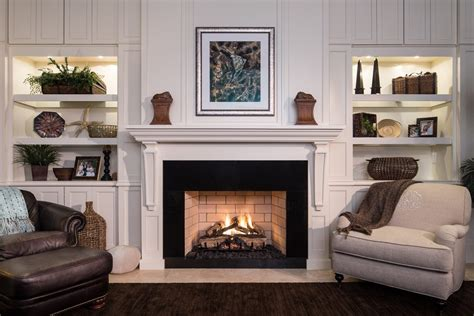 fireplace bookcase decor builtin shelves around fireplace built in bookshelves around fireplace