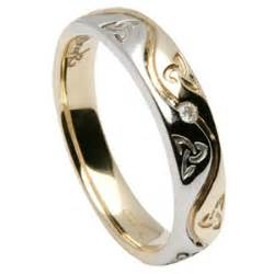 celtic knot wedding bands knot celtic wedding rings