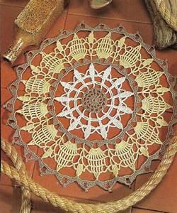 Golden Glow Doily 11 1  2 U0026quot  Digest Size Crochet Pattern
