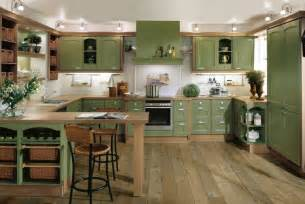 green kitchen interior design stylehomes
