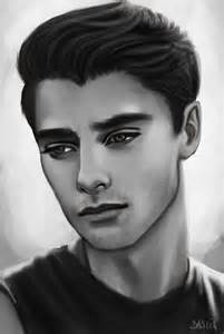 Realistic Male Face Drawing