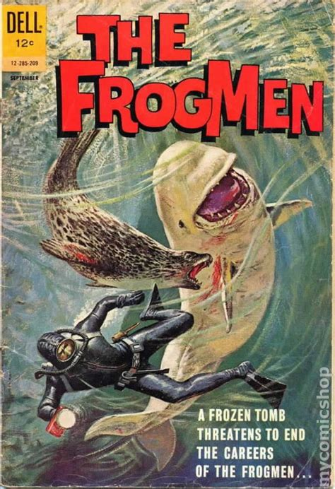 frogmen  comic books