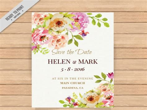 wedding invitation cards psd vector eps png