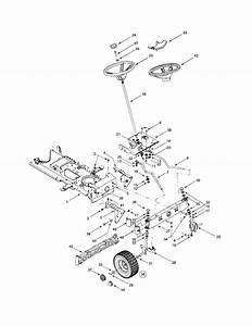 35 Yard Machine Riding Lawn Mower Belt Diagram