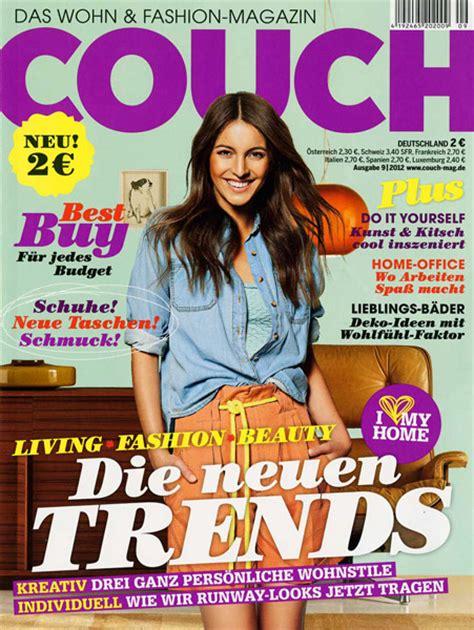 Couch Zeitschrift Enorm Couch Magazin Couchmagazin #17143