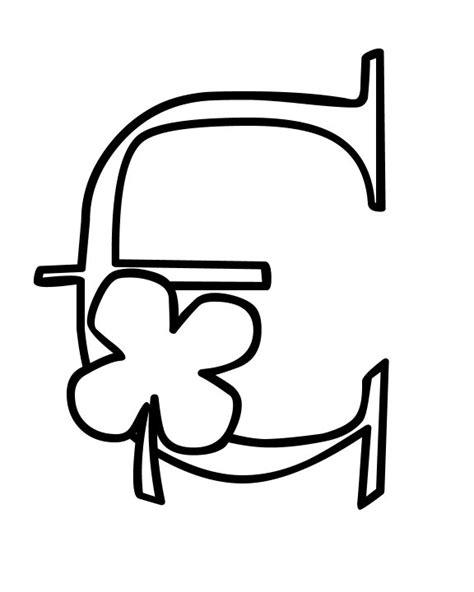 alphabet fancy block coloring pages  kids