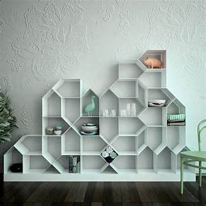 10 Furniture Design Ideas: Modular Bookcase For Living Room