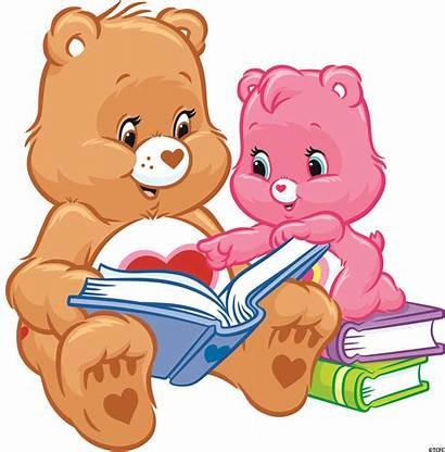 Bears Care Reading Bear Heart Teddy Clipart