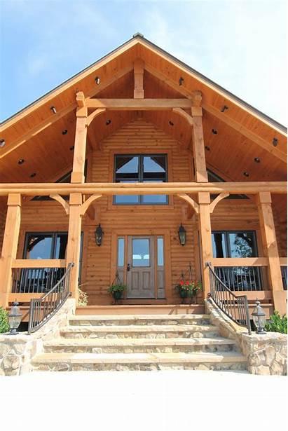 Lodge Log Longleaf Southland Homes Cabin Plan