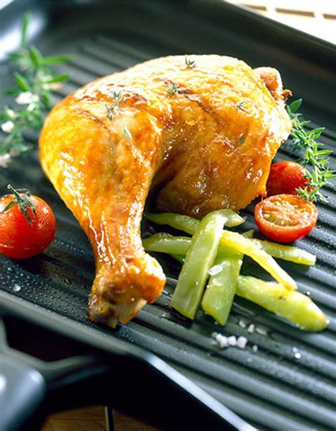 cuisine cuisse de poulet cuisses de poulet grillées à l 39 ail citron et romarin