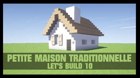 tuto comment construire une maison dans minecraft