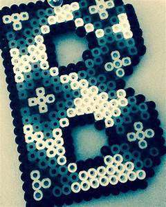 17 best images about fuse beads letters numbers on With big letter beads
