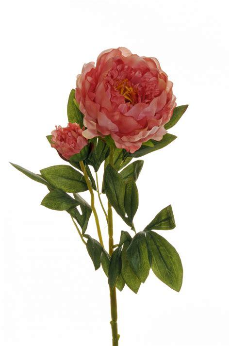 PEONIJA mākslīgais zieds 66 CM - Fioro - kvalitatīvi mākslīgie ziedi un dekorācijas