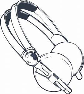 Download Computer Headphones clip art Vector Free