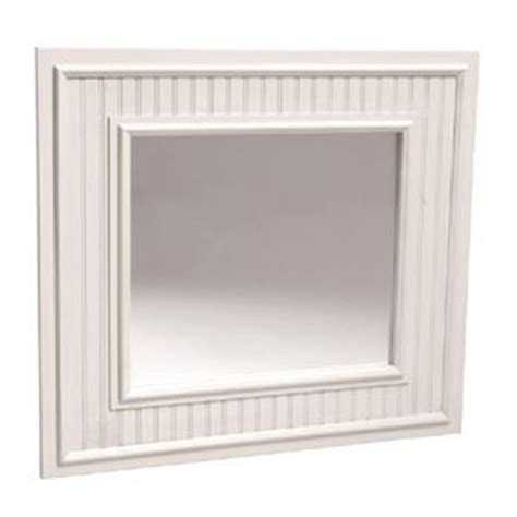 white bead board mirror i was framed