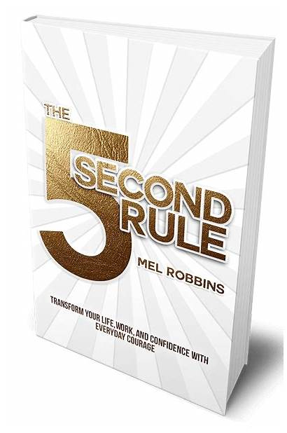 Rule Second Mel Robbins Motivacija Pravilo Confidence