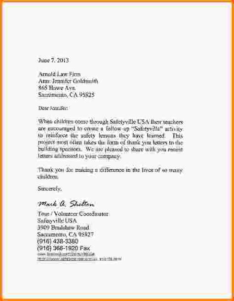 sponsorship thank you letter sponsorship thank you letter