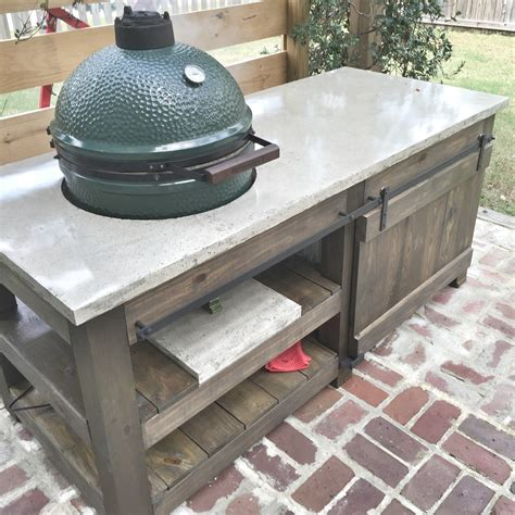 big green egg table plans with doors 1000 images about primo xl tables on pinterest