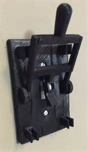 plastic kitchen knives bring your lights to with style using this frankenstein light switch plate