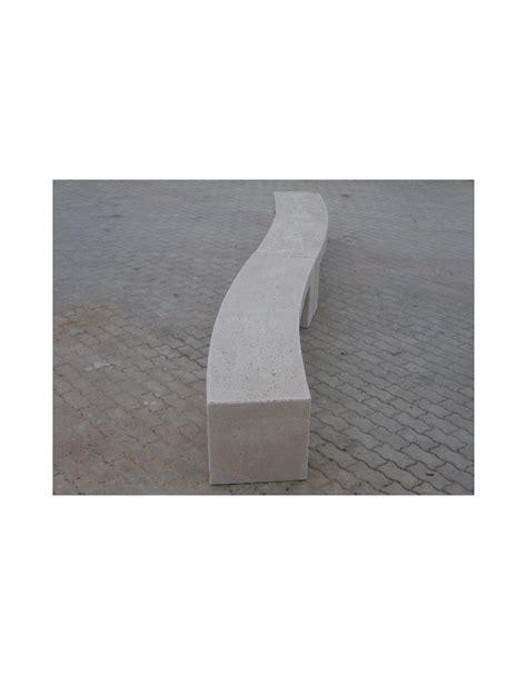 Panchine Cemento by Panchina Curva In Cemento Per Arredo Urbano Colore Bianco