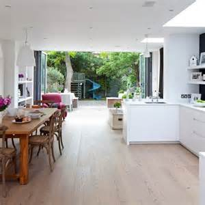 open plan kitchen diner ideas light open plan kitchen housetohome co uk