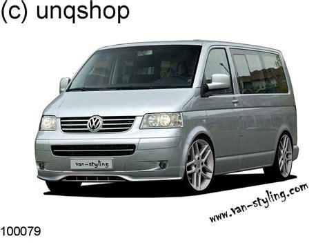 100079 vw t5 caravelle multivan transporter front bumper spoiler splitter add ebay