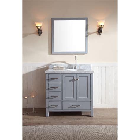ariel cambridge  single sink vanity set