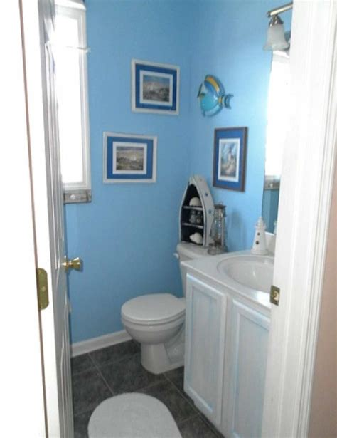 decorating bathroom with a theme home and garden