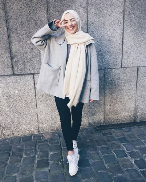 Best 25 Street hijab fashion ideas on Pinterest | Street hijab .. | Hijab Style Inspiration