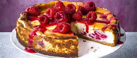 August 14, 2014july 14, 2016 by deb jump to recipe, comments. Baked Raspberry Cheesecake Recipe - olivemagazine