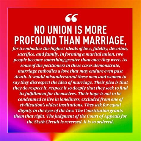 Marriage Supreme Court Decision by The 10 Most Moving Quotes From The Supreme Court S Same