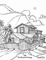 Coloring Beach Pages Newport Cove Crystal Visit Conservancy Courtesy sketch template