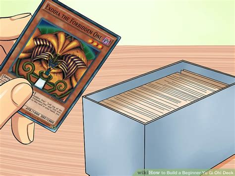 deck yu gi oh build beginner cards wikihow