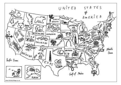 usa map coloring page love   symbols social