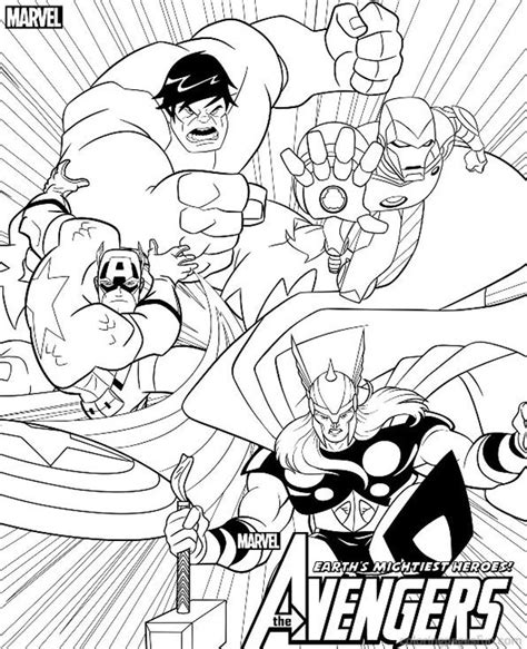 the next avengers coloring pages bing images boys room