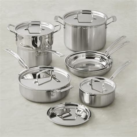 Cuisinart Multiclad Tri Ply Stainless Steel 12 Piece
